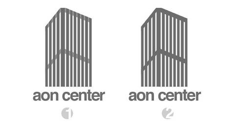 aon center logotype by maoractive