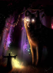 King Of The Night Forest - 2016 version by Martith