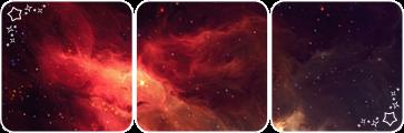Galaxy deco divider by Martith