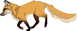 Red fox pixel [F2U] + P2U BASE by Martith