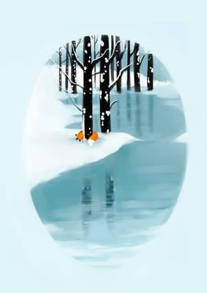 Lake mirror by Martith