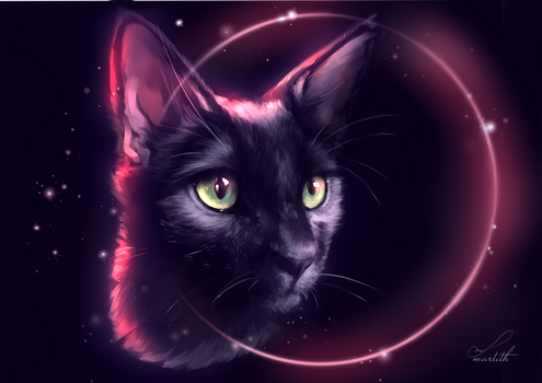 Eclipse | Speedpaint by Martith