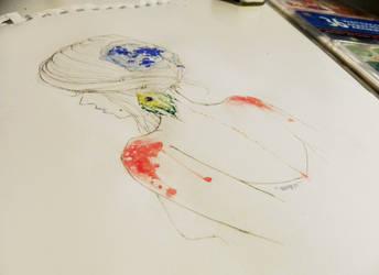 blue lips by stickyfruit