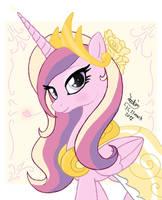 MLP FIM - Princess Cadence by Joakaha
