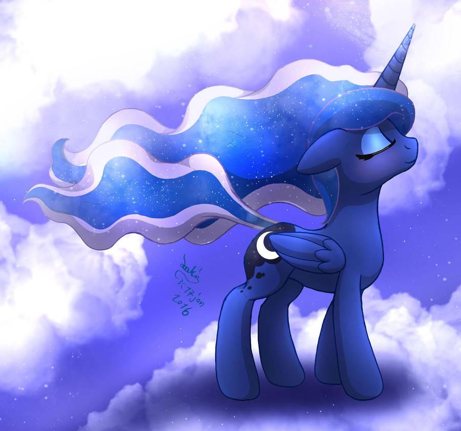 mlp_fim___princess_luna_wind_blow_by_joa