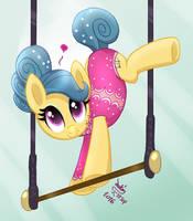 MLP FIM - The Acrobatic Pony Trapeze Star by Joakaha