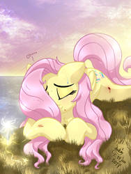 MLP FIM - Fluttershy Fall Down Can't Get Up by Joakaha