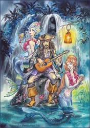 Mermaids  cove. by Bormoglot