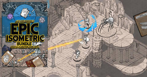 The Epic Isometric bundle I have been working on by alexdrummo