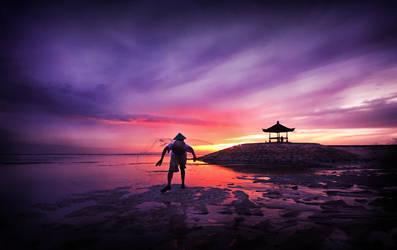 Sunrise Fisherman by humblefisherman