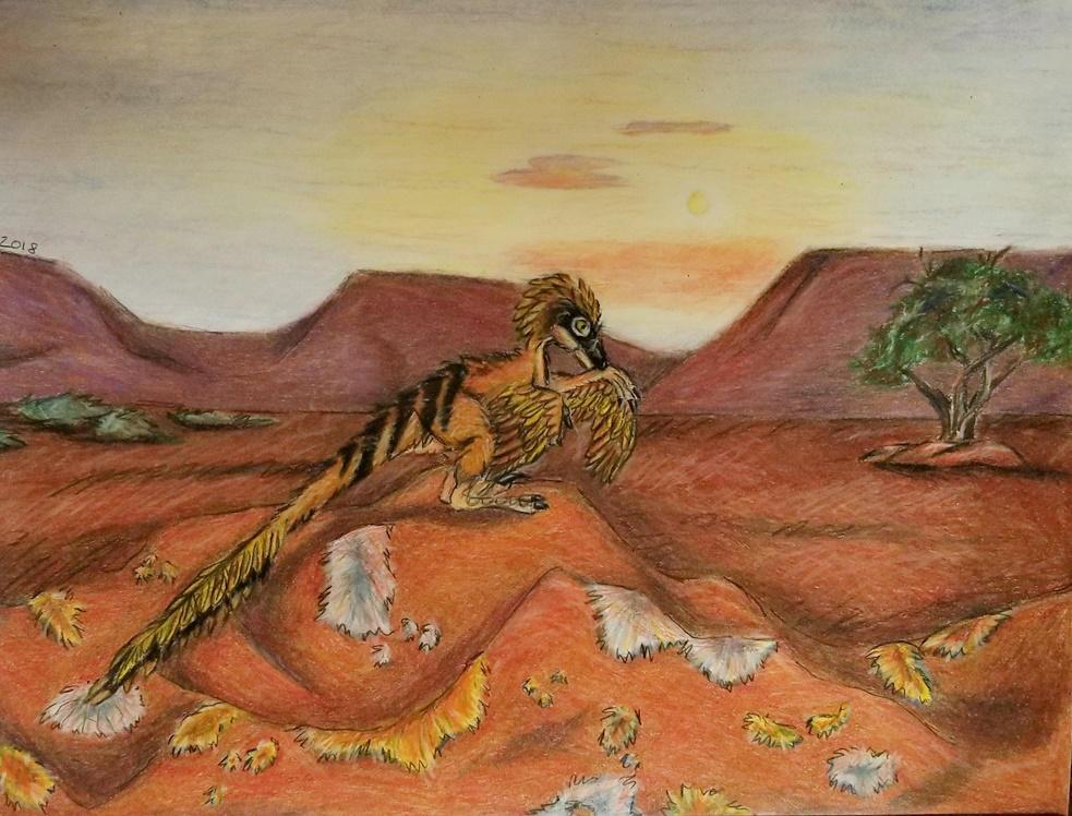 Sandfeather by Bluecrest-Rubenaris