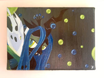 Collage Queen Chrysalis by flutterlinchen
