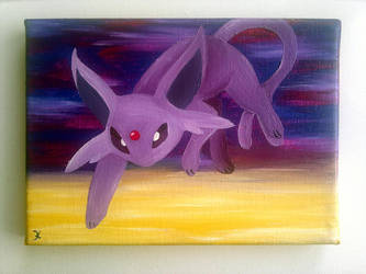 Collage Psiana - Espeon by flutterlinchen