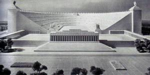 The German Stadium by teslapunk