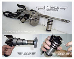 Dieselpunk Army Arms by teslapunk