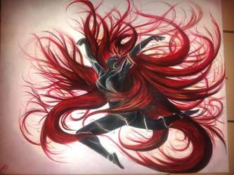 Black n Red by Legna-Siul