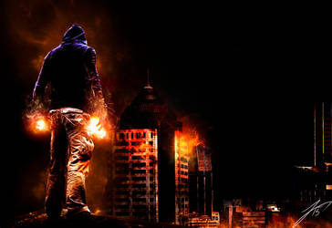Burn by Legna-Siul