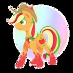 Rainbow Power Applejack by FlashBrush