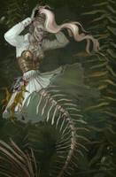 Undead mermaid by NATAnatfan