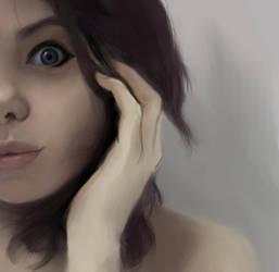 girl by maCGot