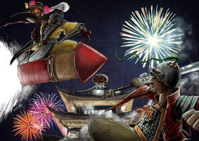 LEague of Legends Lunar Revel contest by ACDeCa