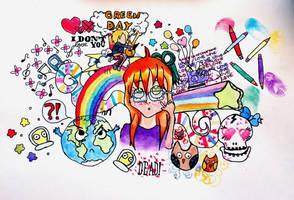 Watercolour Doodle by daphne273