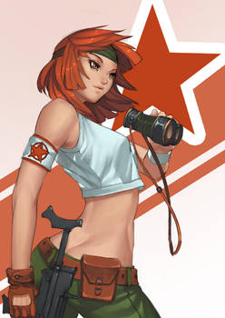 Orange Star by doghateburger
