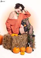 Alyssa Halloween by Little-Hunter