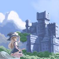 Azure Demon Castle by ProfitShame