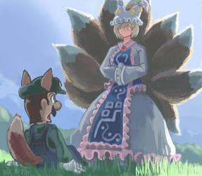 Impending Kitsune Romance by ProfitShame