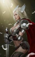 Original angel warrior cosplay by kilory