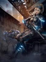 Heros of the Storm Nova Cosplay by kilory