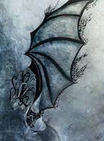Nightwings Battle by morbidillusion666