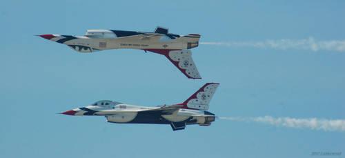 Thunderbird Back To Back by Photobeast