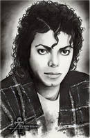 Michael Jackson portrait by AnimaEterna