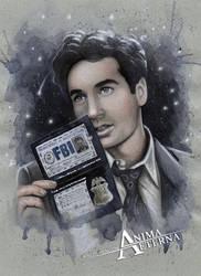 Fox Mulder by AnimaEterna