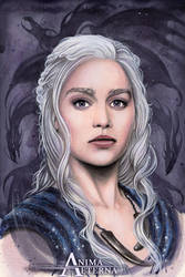 Dragon Queen by AnimaEterna