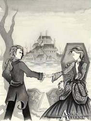 Roderick and Madeline Usher by AnimaEterna