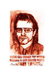 Poster Bono Vox by maximvs