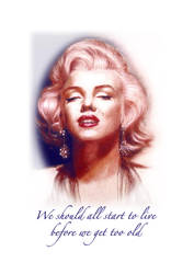Poster Marylin Monroe by maximvs