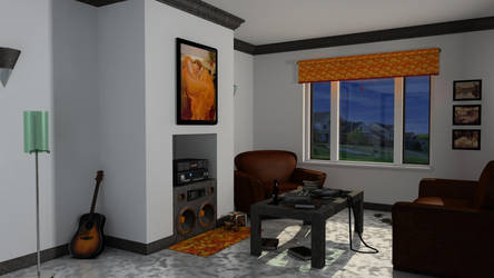 Living Room Scene by ScienceSkills
