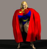 Superwoman 3D by Angel-Uriel15