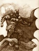 Batman by manojart