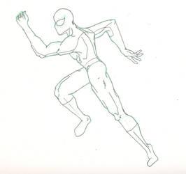 Spider-man Sketch by HiringHenchmen