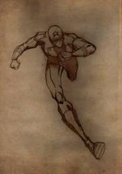 Young Avenger: Captain America by HiringHenchmen
