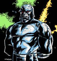 Quick Darkseid sketch by dichiara