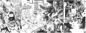 Batman sample pages by dichiara
