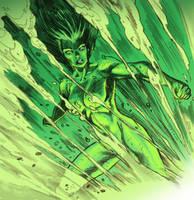 She-Hulk - Green Boom by dichiara