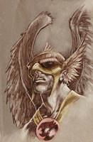 Hawkman - Joe Kubert by dichiara