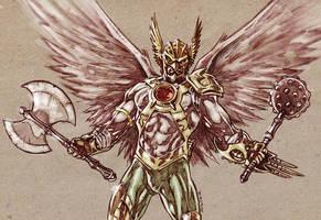 Hawkman - DC new 52 by dichiara